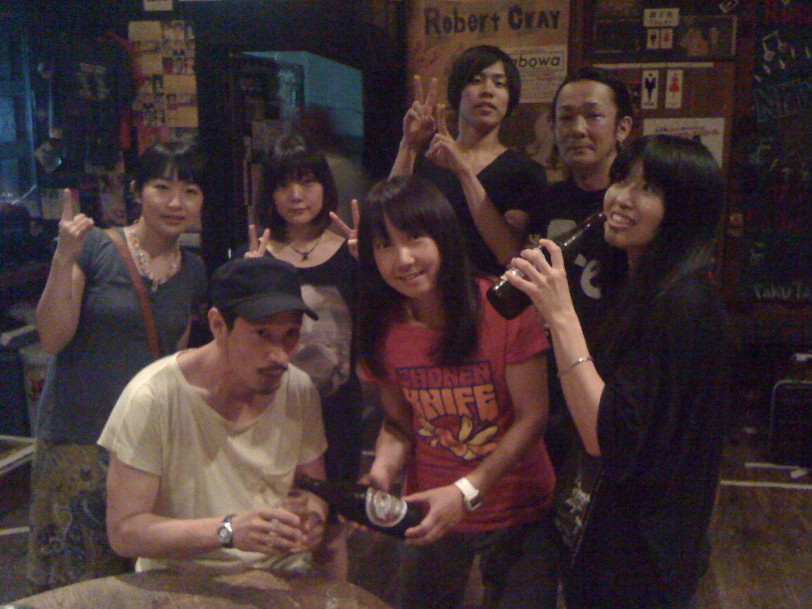 Shonen Knife's Blog6月29日京都磔磔~水島温泉~投稿ナビゲーションアーカイブLINK最近の投稿Naoko TwitterAtsuko TwitterRisa  TwitterWorld Tour Blog !!bloodthirsty butchers