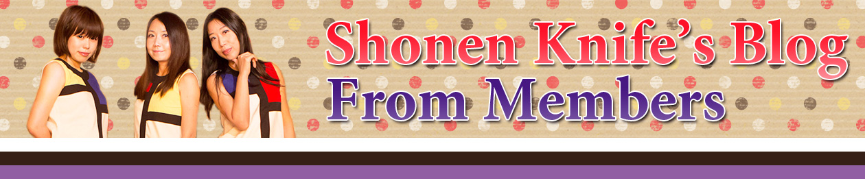 Shonen Knife's Blog